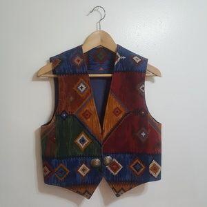 Tops - Printed vest